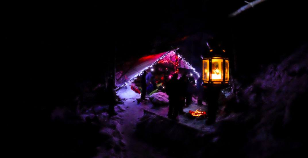 Attend a Christmas concert 100 metres underground