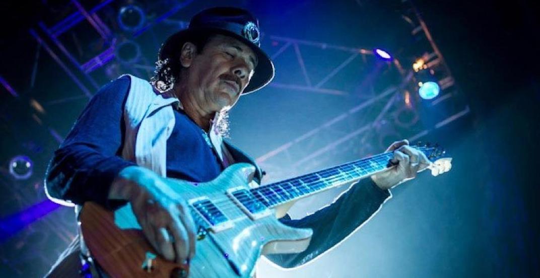 Santana Calgary 2018 concert at Scotiabank Saddledome