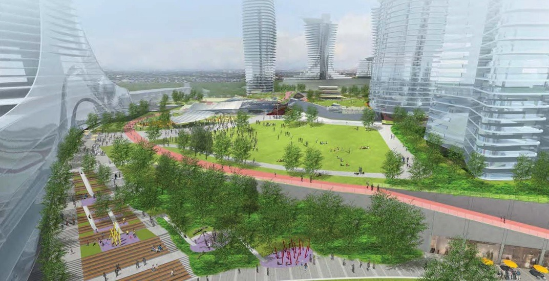 Major new 9-acre public park to be built on rooftop of Oakridge Centre redevelopment