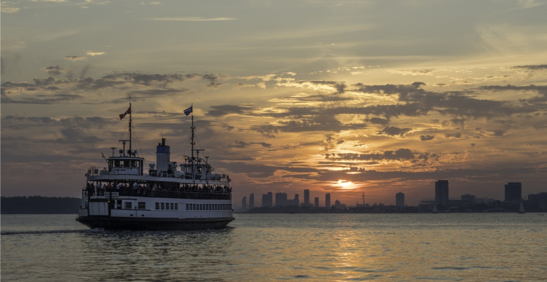 Flares to be set off over Toronto harbour tonight