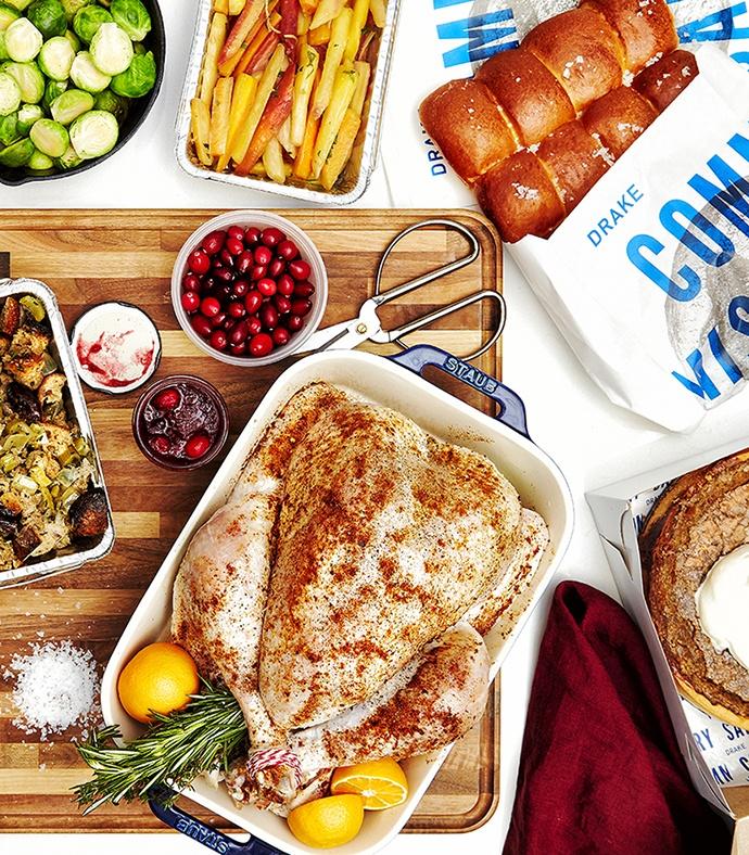 The Drake Commissary christmas dinner turkey