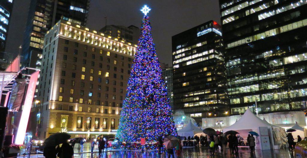 vancouver christmas tree