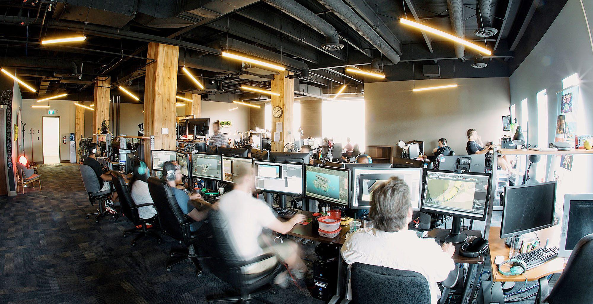 Bardel animation studio in Vancouver (Bardel)