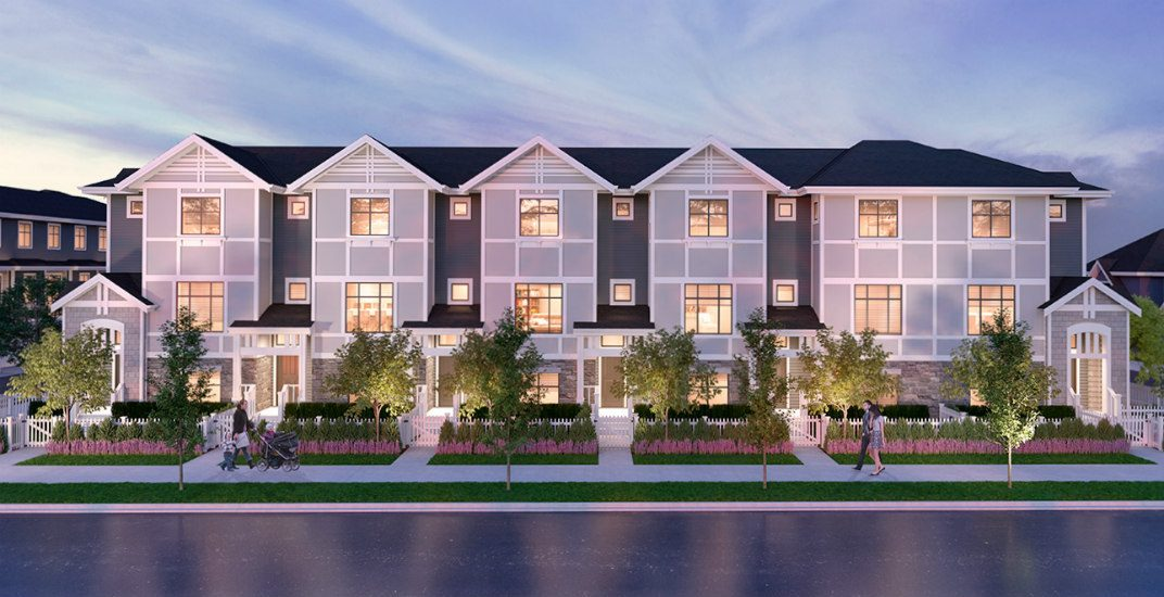 Experience luxury living at an affordable price in a new Surrey townhouse