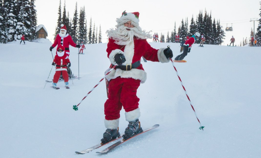 Whistler's Annual Dress Like Santa Day 2017 offers free lift tickets