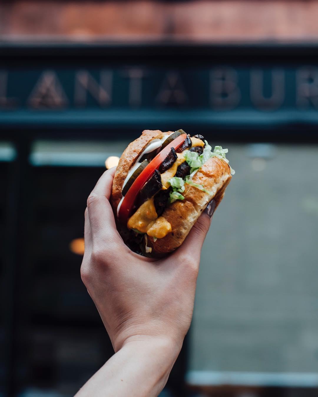 planta burger vegan plant based