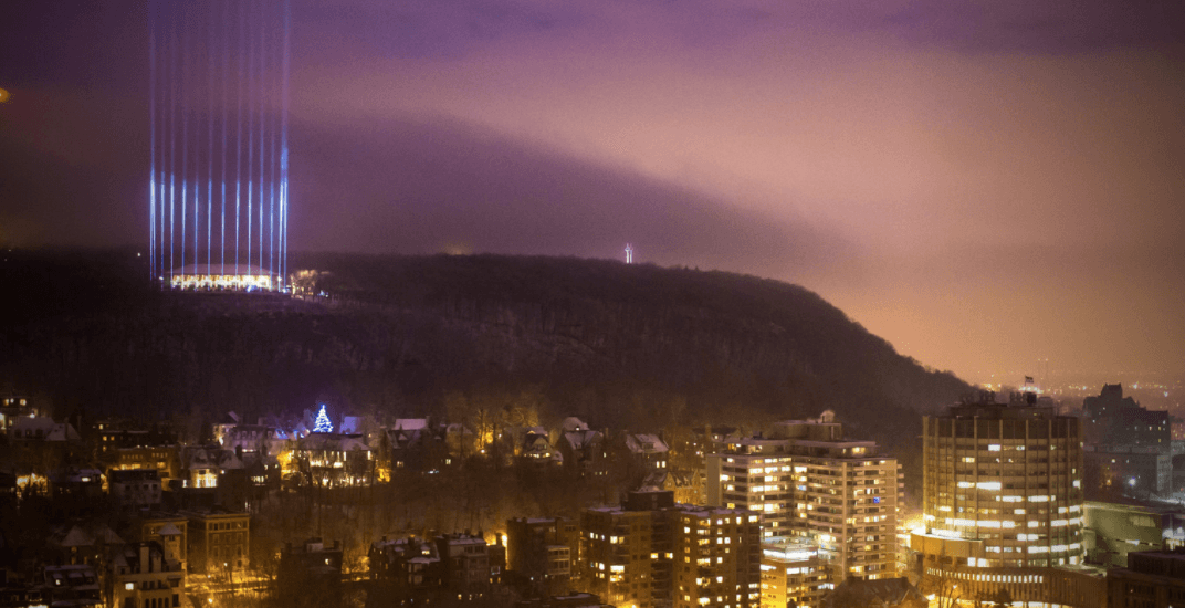 Mount Royal will light up tonight in memory of École Polytechnique victims