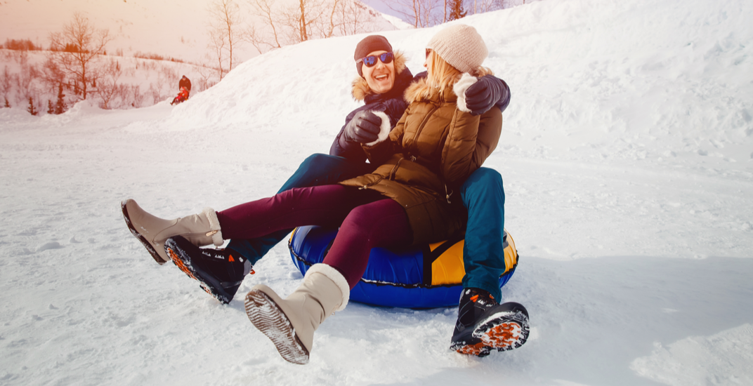Best places to snow tube in and around Vancouver this winter
