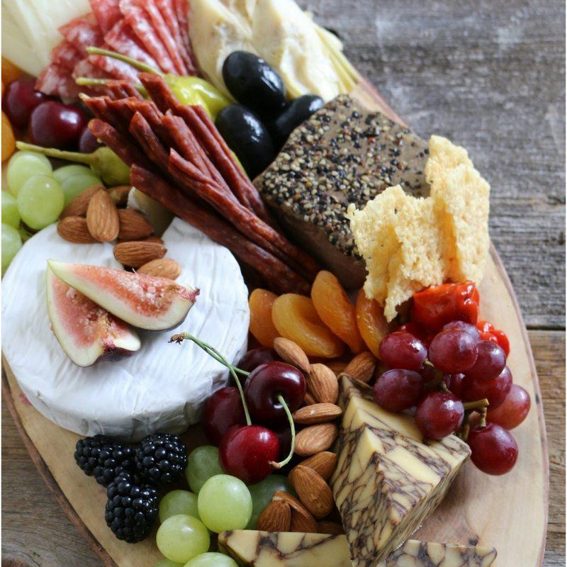 Summerhill Market platters cheese board