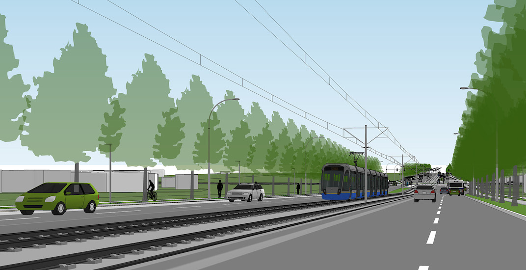 Surrey light rail transit lrt f2