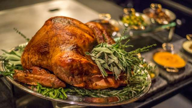turkey christmas eve dinner