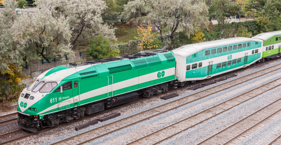Pedestrian fatally struck by GO Train in Scarborough this morning