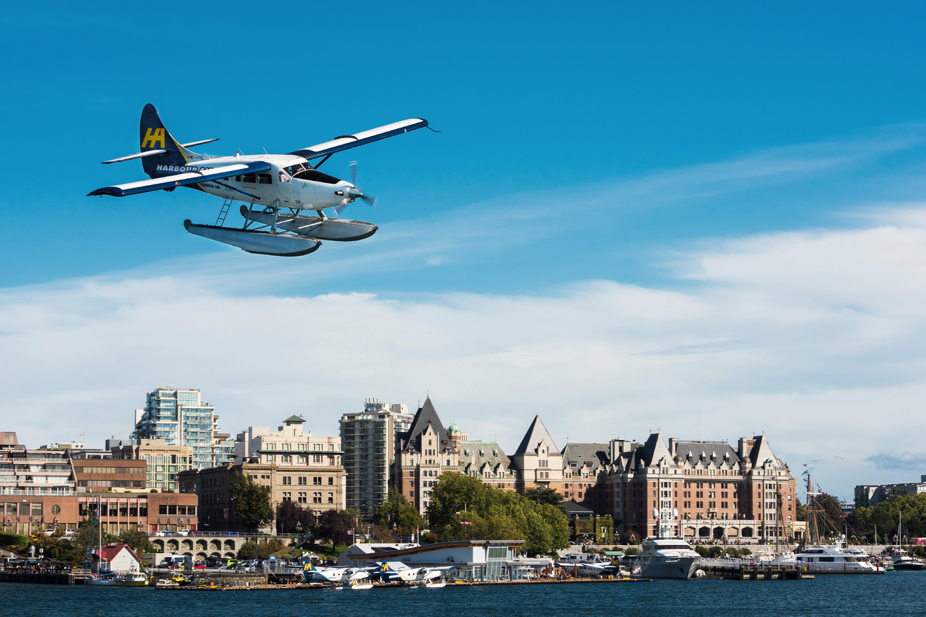 Harbour Air Victoria Tour
