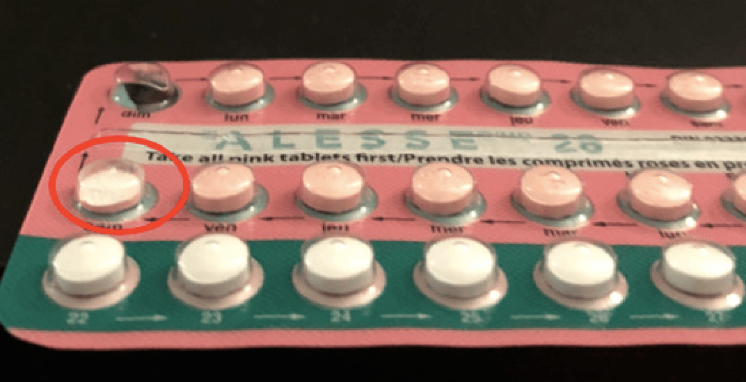 Health Canada sends warning to women taking Alesse birth control