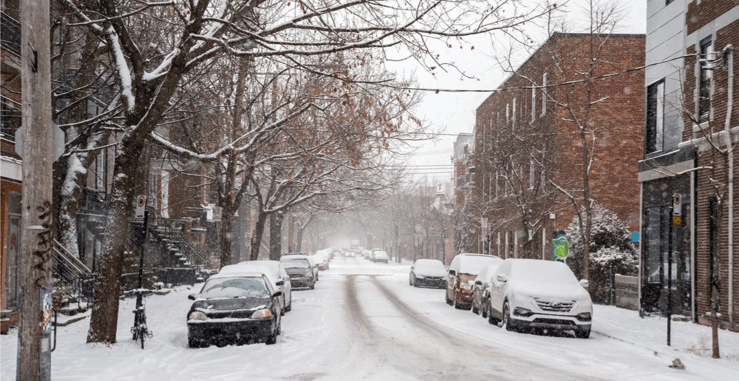 Here's where you can park for FREE during snow removal in Montreal