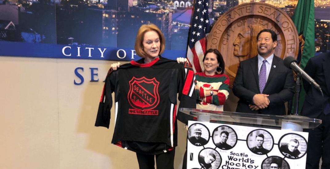 Seattle's mayor is already trash-talking the Canucks