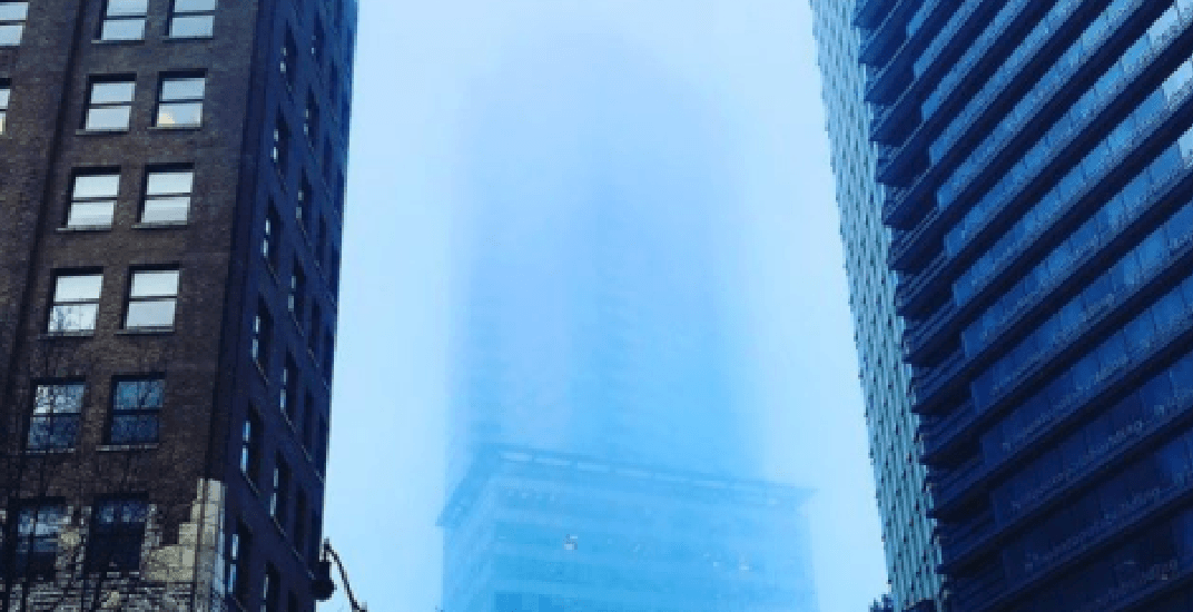 Fog continues to blanket Metro Vancouver Friday (PHOTOS)