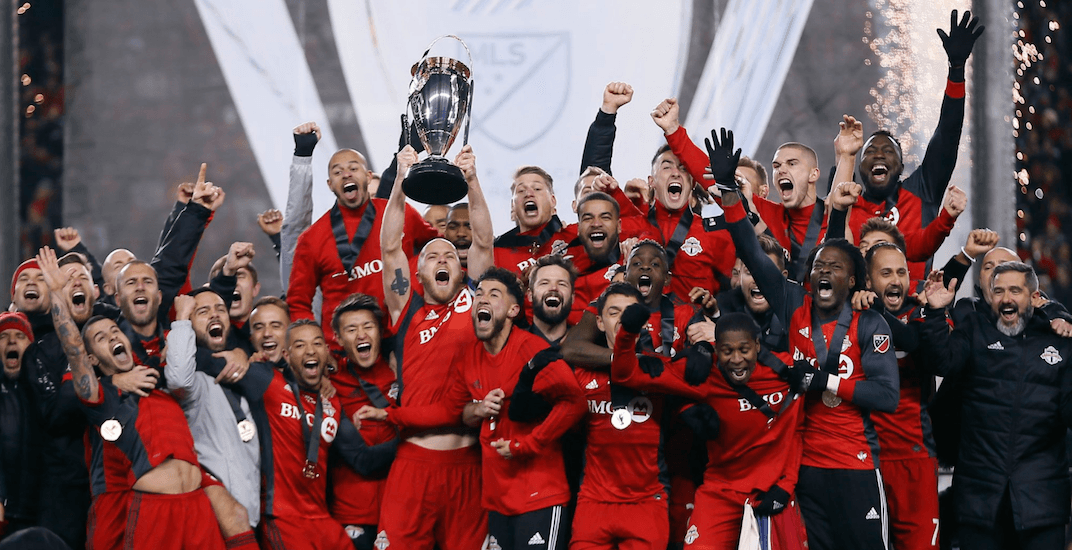 Toronto fc mls cup champs