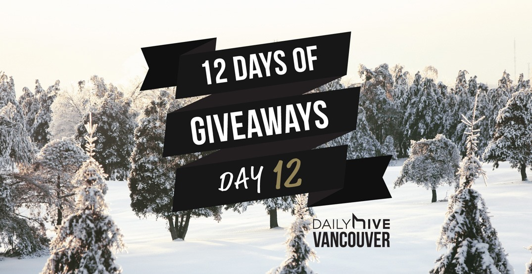 12 days of giveaways vancouver 12