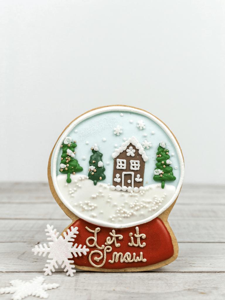 Bobbette & Belle christmas cookie