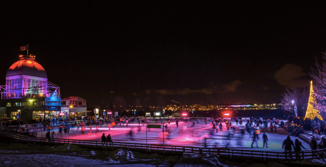 The Old Port skating rink is hosting Latin nights every Wednesday