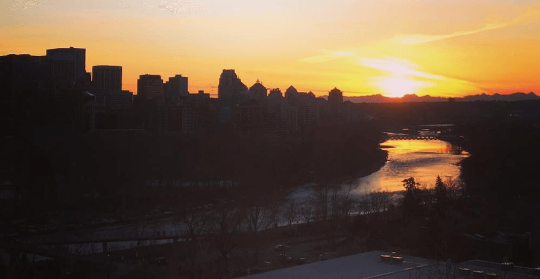 Calgary broke a 127-year-old weather record over the weekend