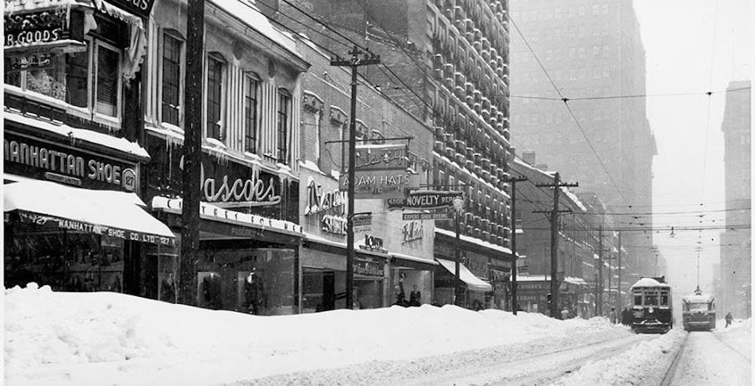 On this day 73 years ago Toronto had a historically big snow storm (PHOTOS)