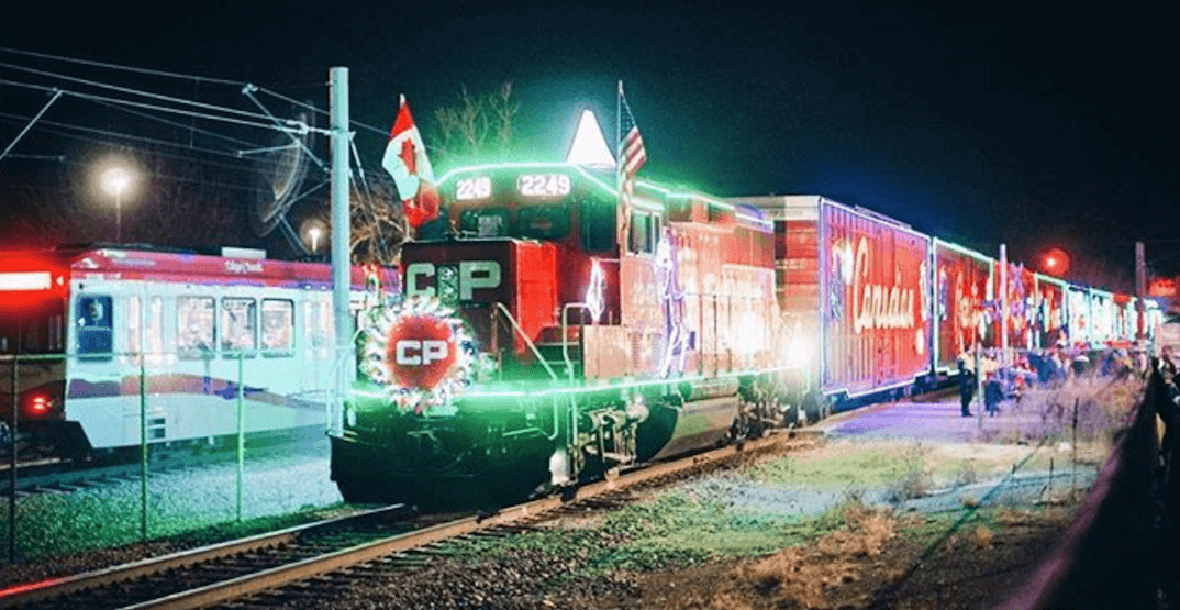 The CP Holiday Train rolled through Calgary last weekend (PHOTOS, VIDEOS)