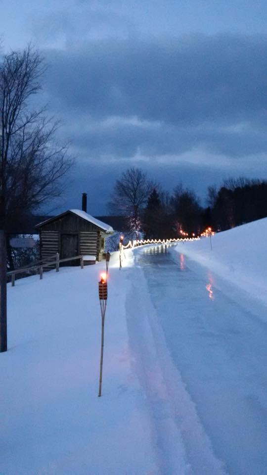 Ontario Skating trail