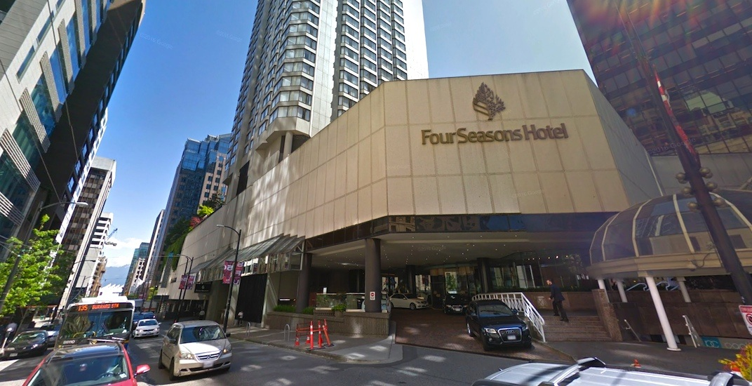 Four Seasons Hotel Vancouver closing this month