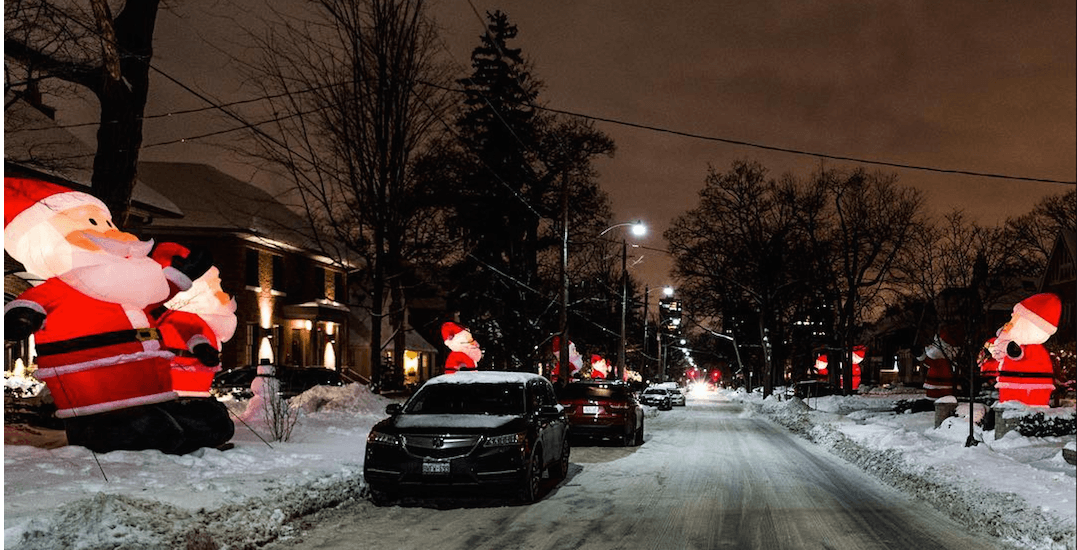 This Toronto street takes holiday decorating to a whole new level (PHOTOS)