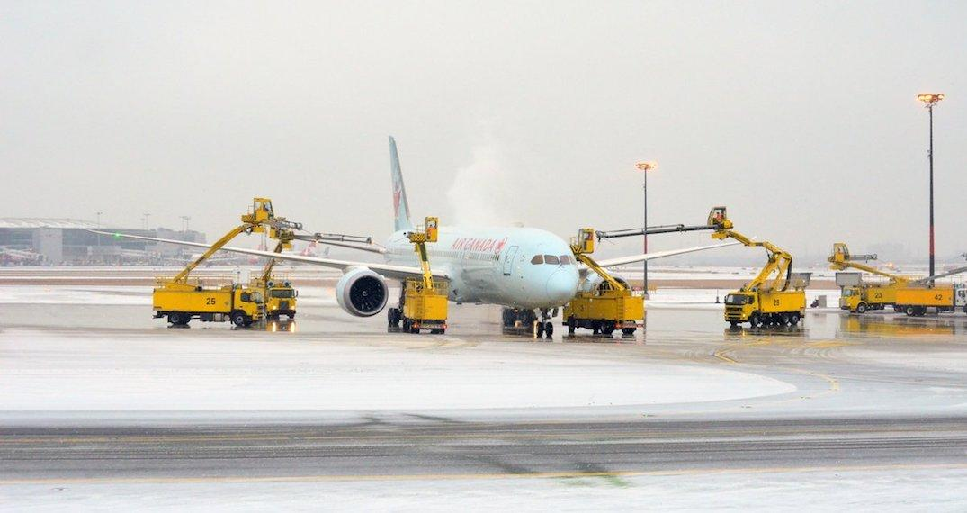Over 100 flights have been cancelled and delayed at Pearson Airport