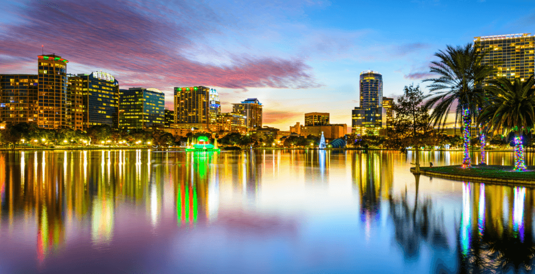 You can fly from Vancouver to Orlando for $288 return