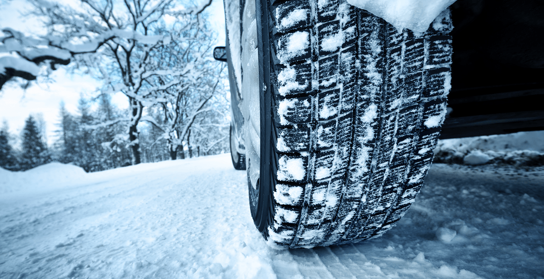 You can be fined up to $300 if you don't have your winter tires on by Friday