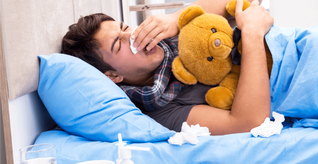 Canadian scientist claims the 'man flu' is actually a real thing