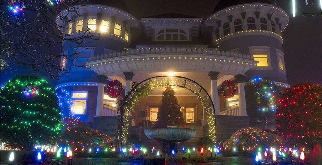 Canuck Place illuminates for the season with over 60,000 holiday lights