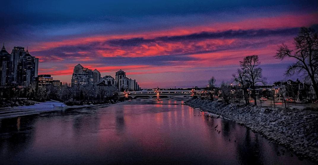 11 amazing photos of this morning's technicoloured sunrise