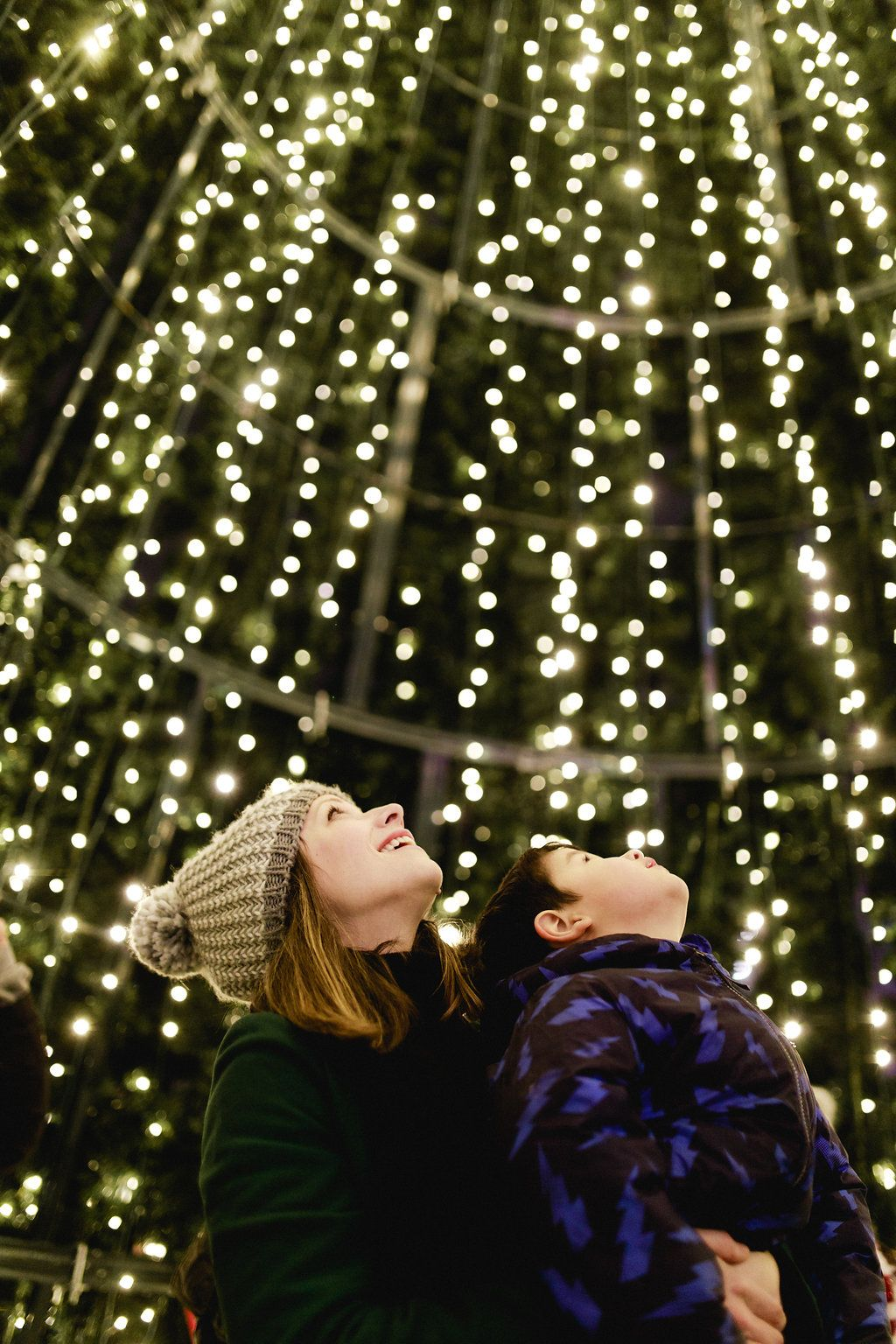 Inside the Vancouver Christmas Market walk-in tree (Vancouver Christmas Market)