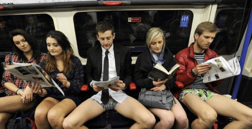 Montreal's No Pants metro ride is returning next month