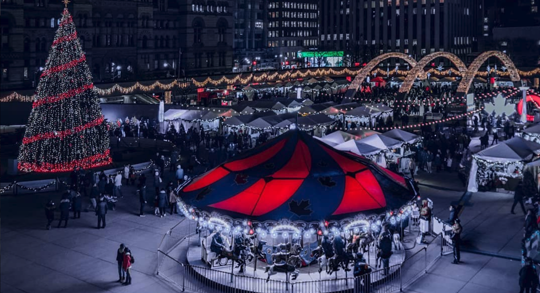 Toronto's Holiday Fair in the Square opens December 1