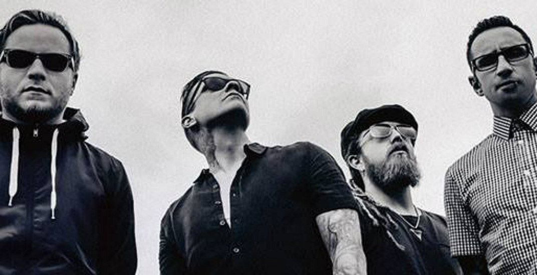 Rock band Shinedown announce spring concert at Abbotsford Centre