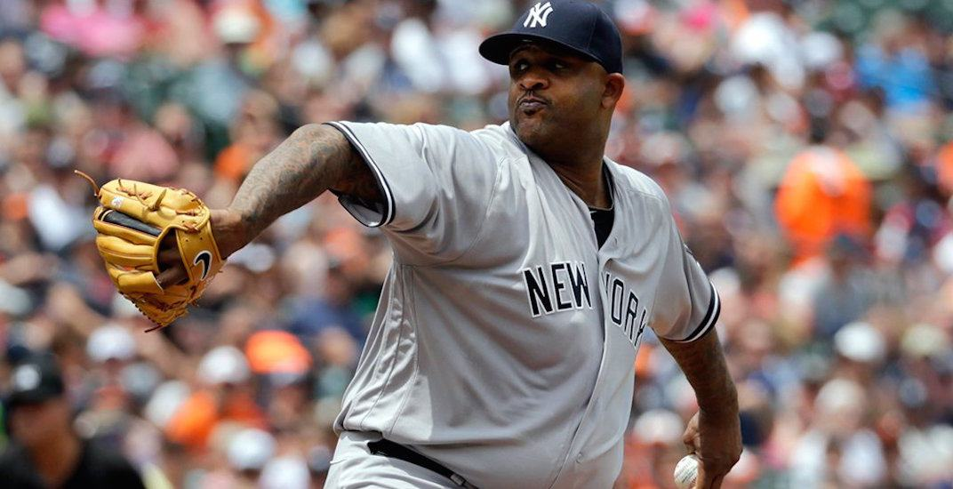 Report: Blue Jays in talks with free agent pitcher CC Sabathia