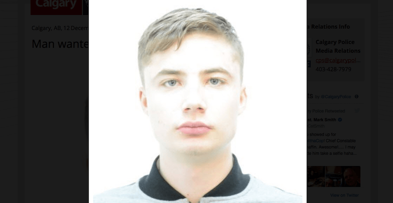 22-year-old Calgary man wanted on 19 warrants