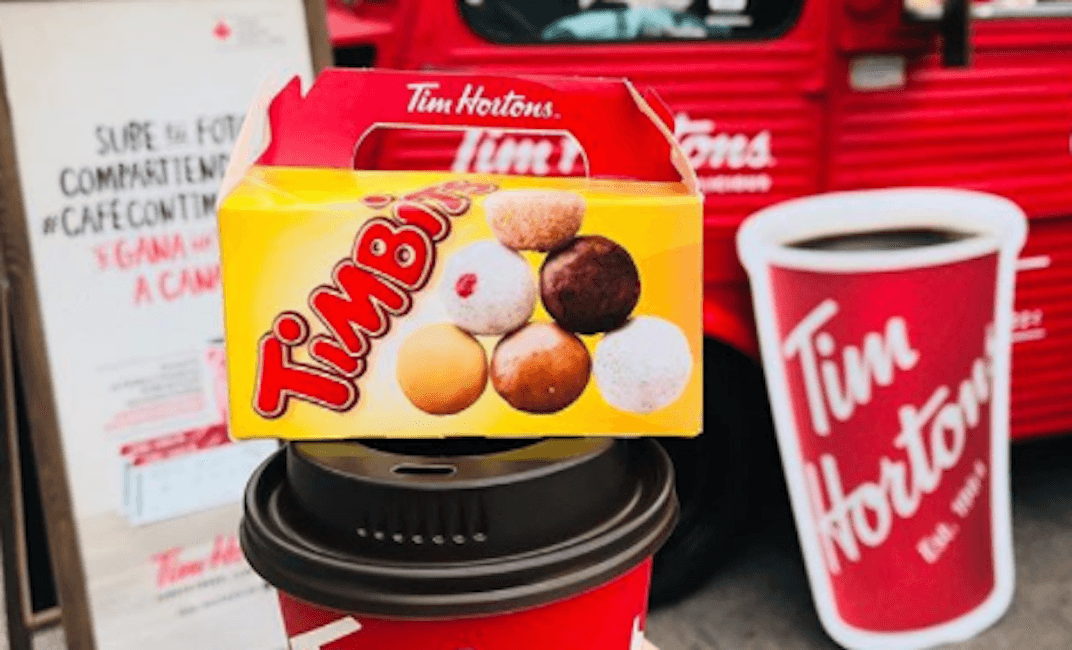Tim Hortons selling 10 Timbits for $1 for the next two weeks