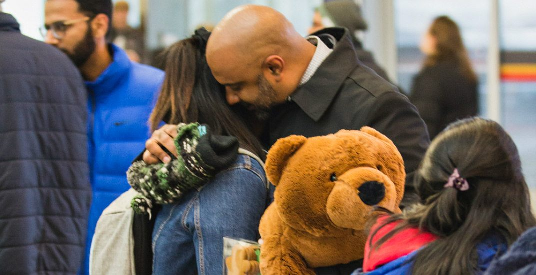 Experience the holiday magic at Terminal 1 with warm homecomings