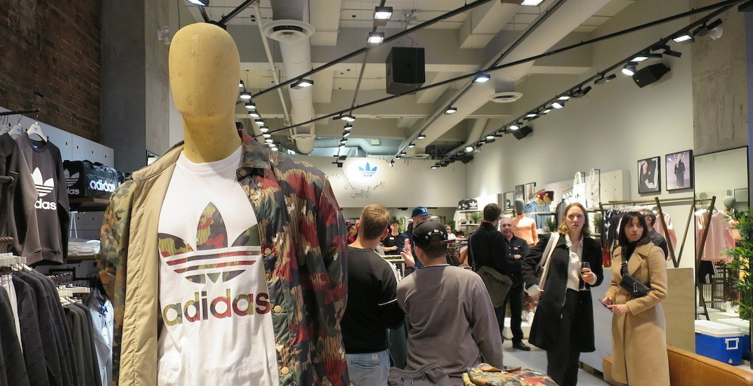 plus de photos c043c 73a23 adidas opens new Originals store in downtown Vancouver ...
