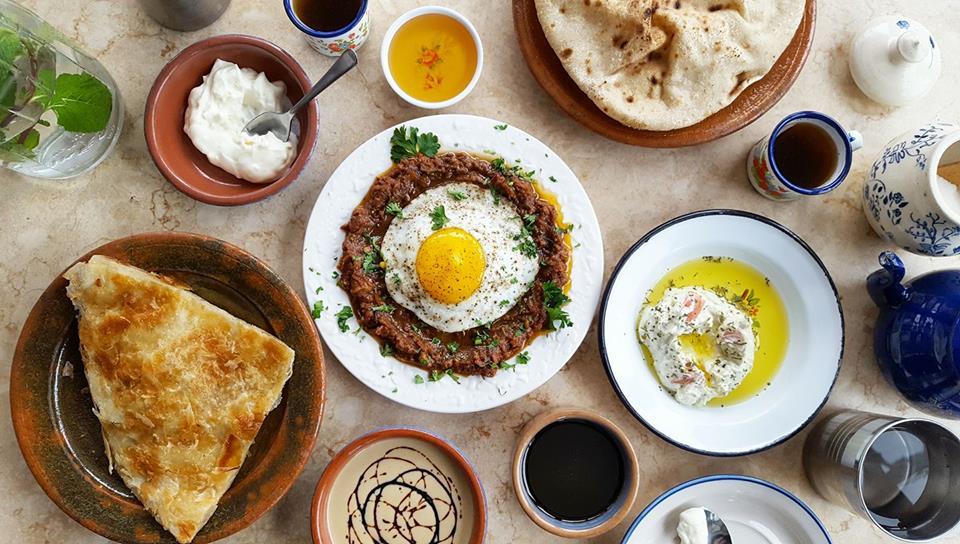 diverse food scenes