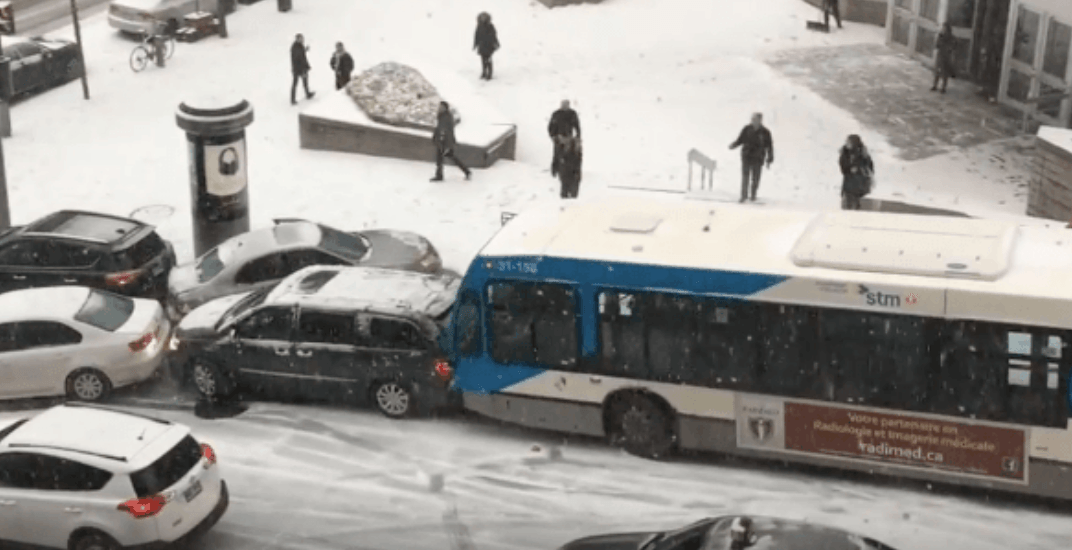 Montreal buses don't have to follow the province's winter tire rule