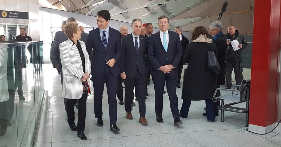 Trudeau, Wynne, and Tory officially open the TTC Line 1 extension (PHOTOS)