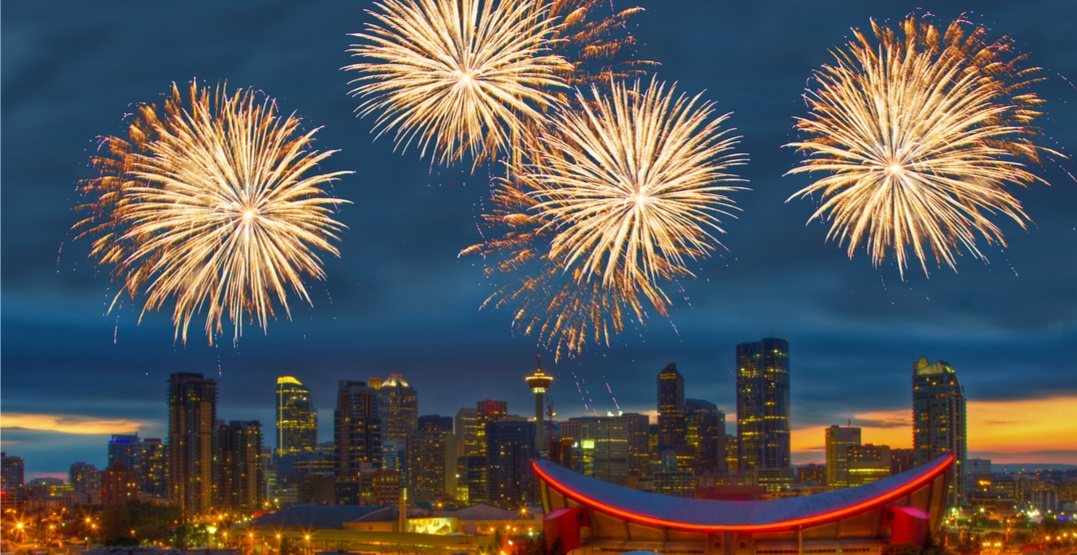 Here's when (and where) to see the Canada Day fireworks in Calgary